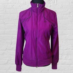 Nike Purple Windbreaker Small
